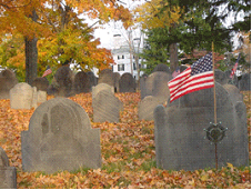 Restoration of the Old Burying Ground