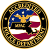 Accredited Police Department  - MPAC Seal