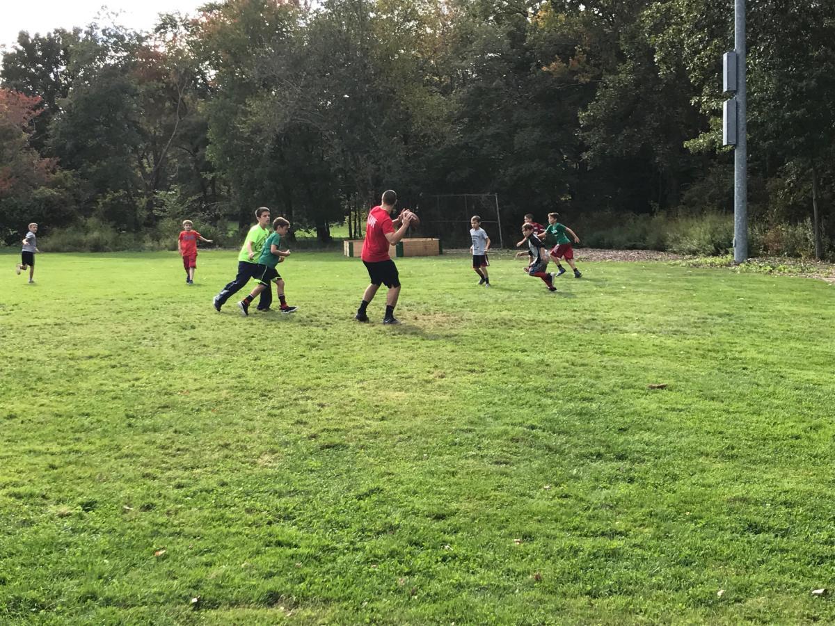 Football on Drummond FIeld
