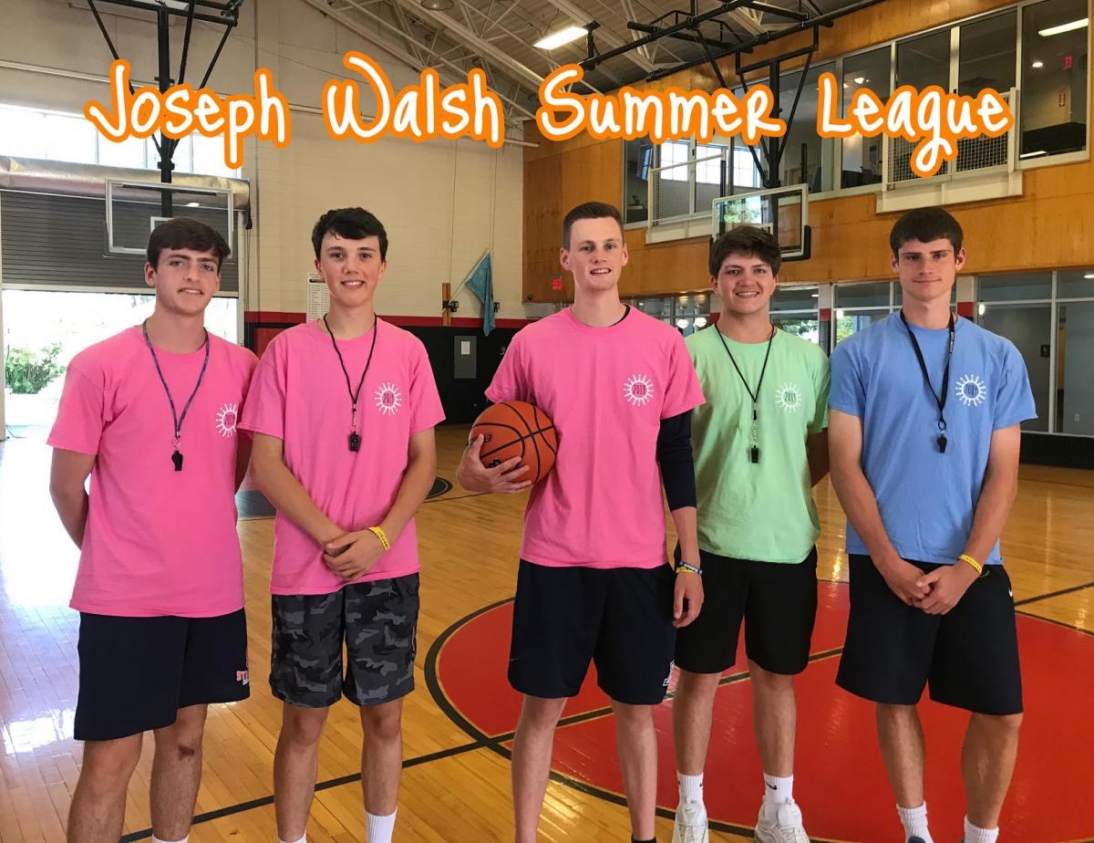Joe Walsh Summer League 2019 Staff