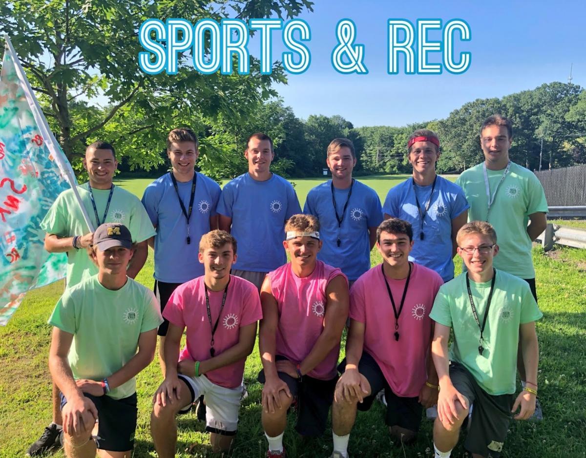 Sports & Rec 2019 Staff