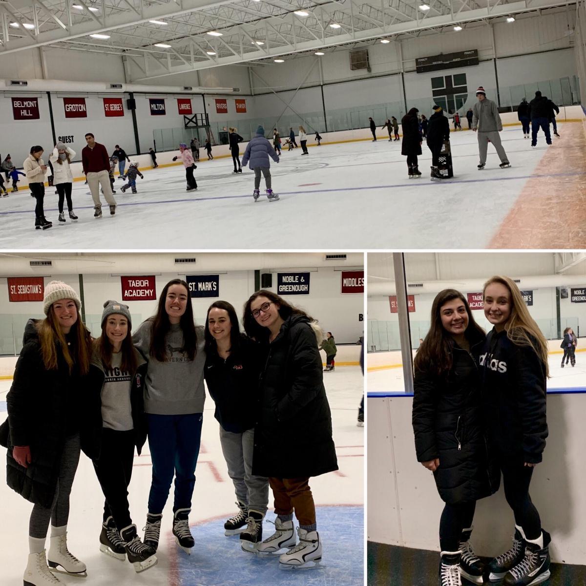 Brooks skating